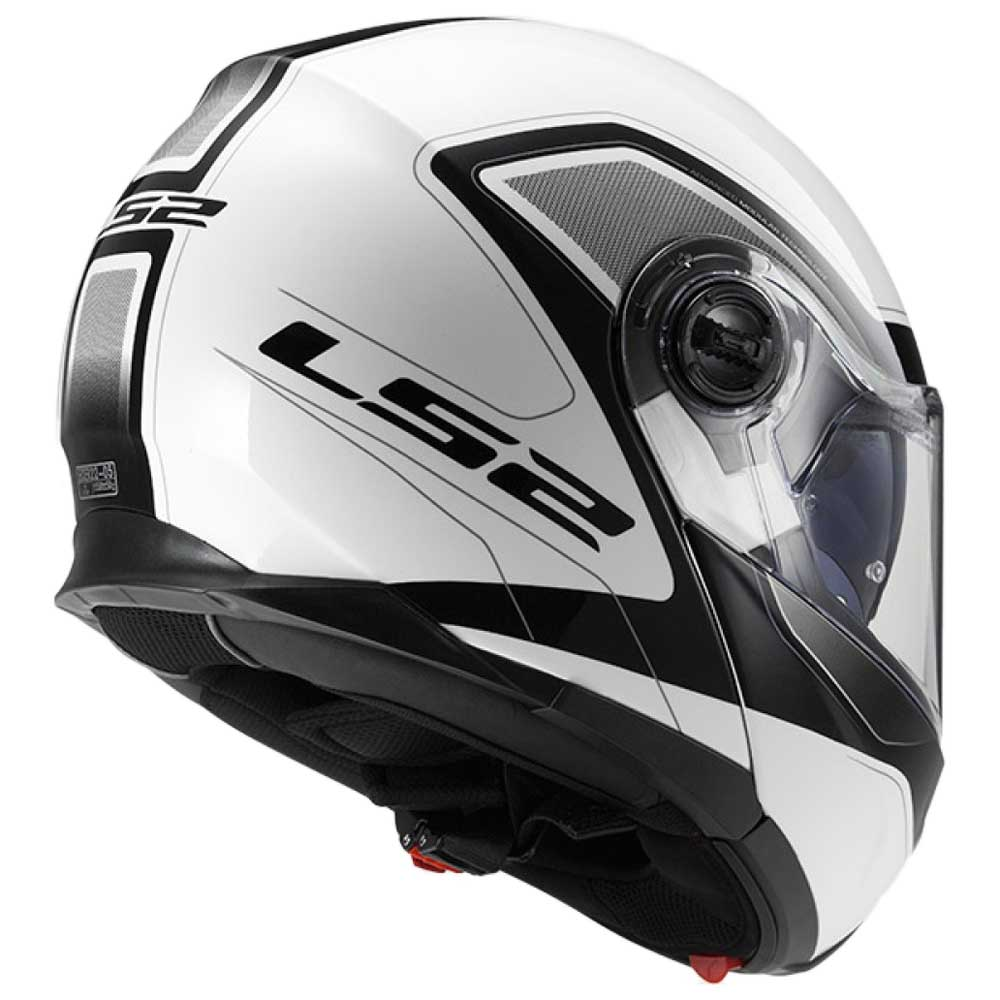Helmet LS2 325 STROBE (CIVIK White Black)