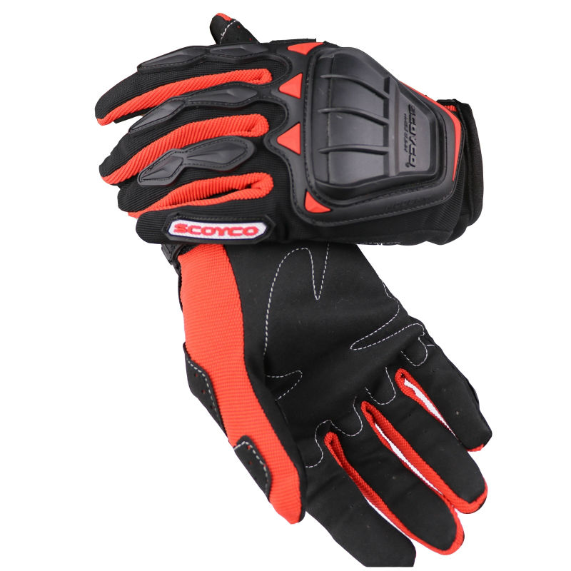 Gloves Full MC08 SCOYCO (Red)