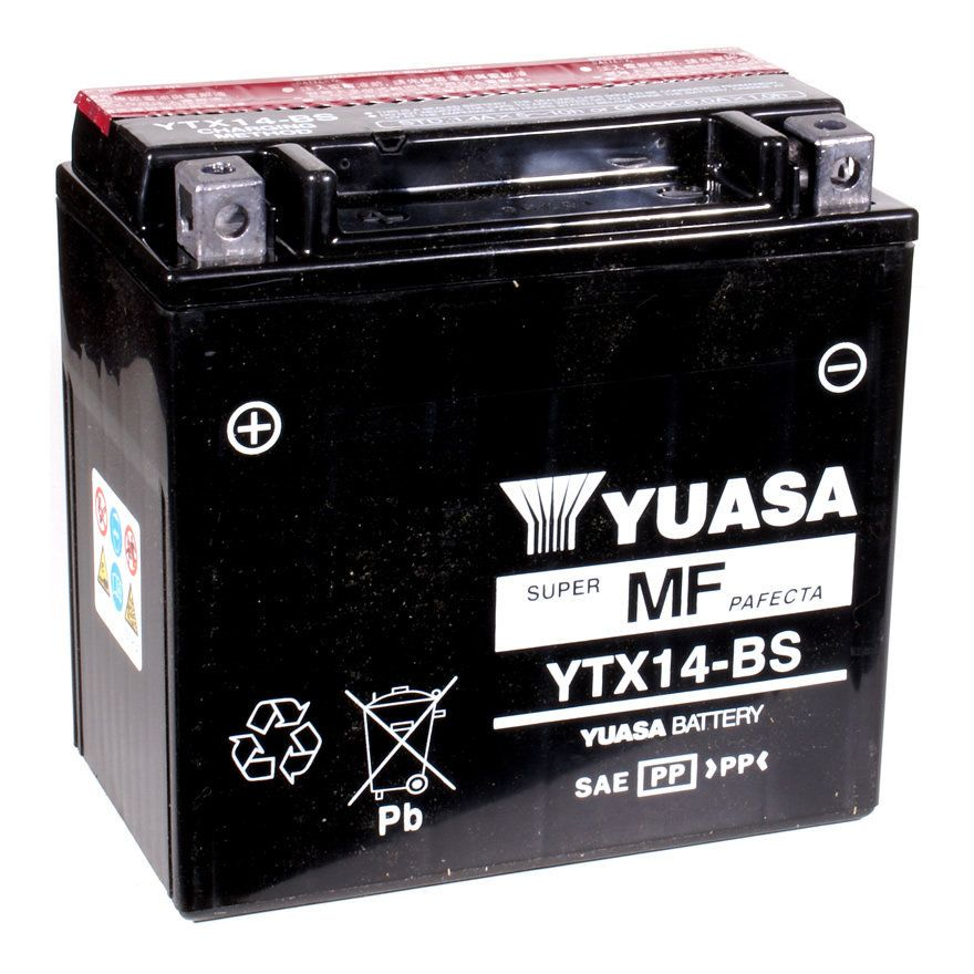 Battery 12YTX14 Yuasa China