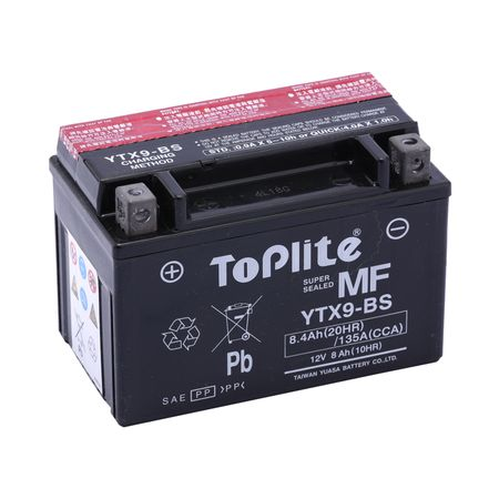 Battery YTX9 Top Lite Taiwan