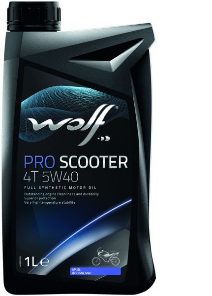Engine Oil 5W40 Pro-Scooter (1 Liter) Wolf