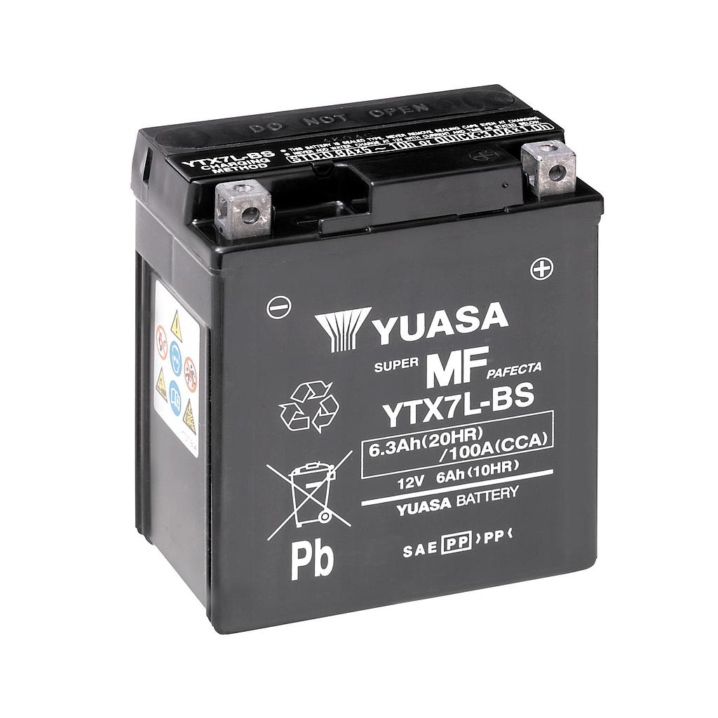 Battery 12YTX7L Yuasa China
